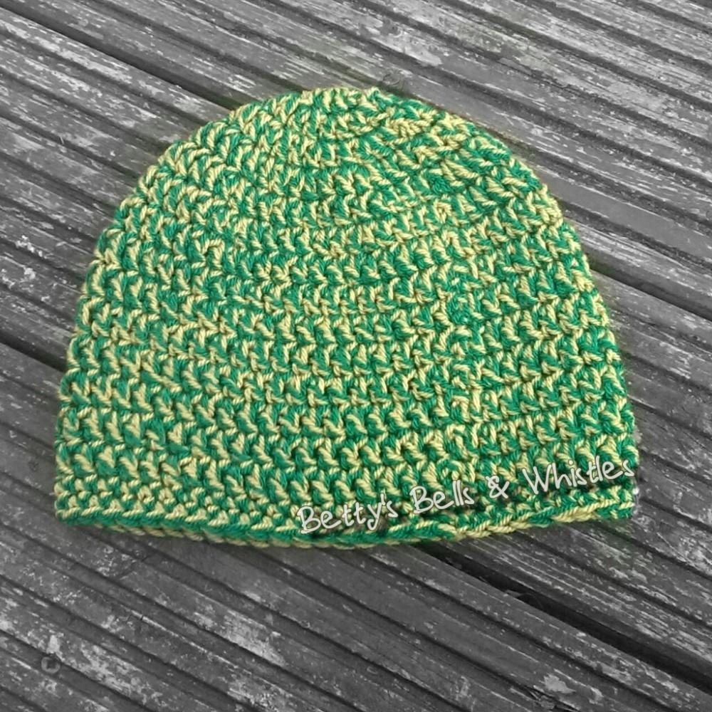 Minecraft creeper inspired hat pattern (2/6)